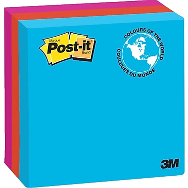 Post-it® Notes, Jaipur Collection, Lined, 4
