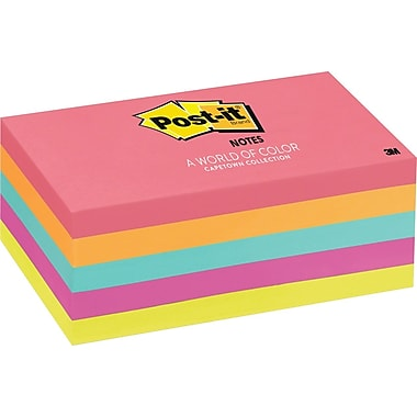 Post-it® Notes, Cape Town Collection, 3
