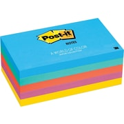 "Post-it® Notes, Jaipur Collection, 3"" x 5"", 5 pads/pack"