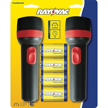 Rayovac Value Bright Combo with 2D Flashlights