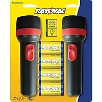 2-Pk. Rayovac Value Bright 2D Flashlights