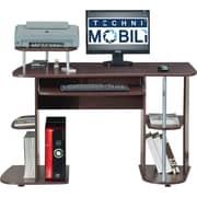TechniMobili RTA-8104 Computer Desk, Chocolate
