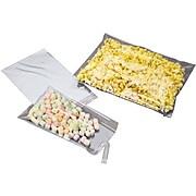 """9""""W x 12""""L Adhesive Lipped Poly Bag, 1.2 Mil, 100/Carton (236-0912-12A)"""
