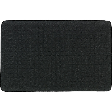 The Anderson Company Get Fit Stand Up Anti-fatigue Mats, Coal Black, 22