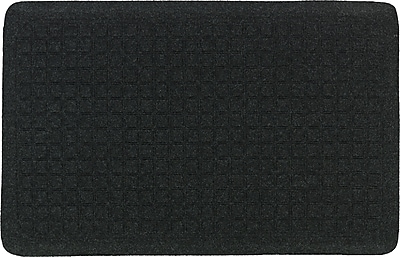 The Anderson Company Get Fit Stand Up Anti-fatigue Mats, Coal Black, 34