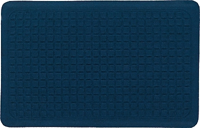 The Anderson Company Get Fit Stand Up Anti-fatigue Mats, Cobalt Blue, 34