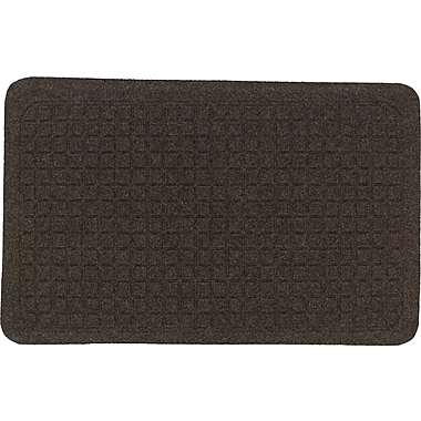 The Anderson Company Get Fit Stand Up Anti-fatigue Mats, Cocoa Brown, 34