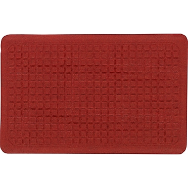 The Anderson Company Get Fit Stand Up Anti-fatigue Mats, Red, 22