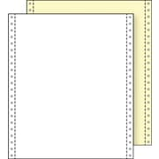 "Printworks® Professional 2 Part Blank Computer Paper, 9 1/2"" x 11"", White/Canary, 1400 Sheets"