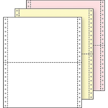 Printworks® Professional 3 Part Computer Paper, 9 1/2