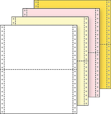 Printworks® Professional 4 Part Computer Paper, 9 1/2