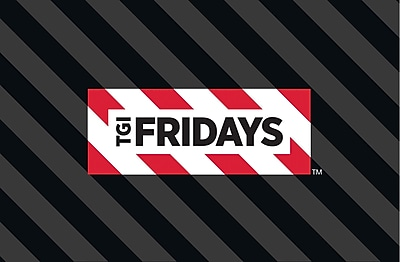 TGI Friday's $100 Gift Card, Email Delivery (68552B10000)