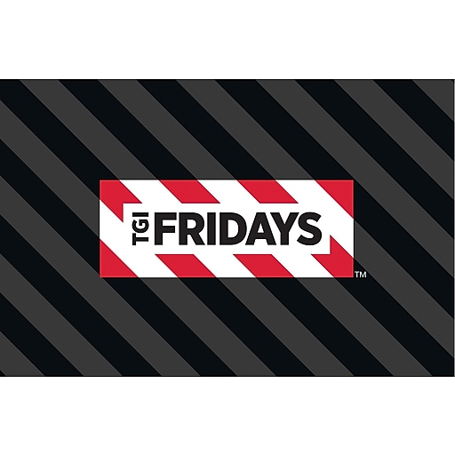 TGI Friday's Gift Card $25
