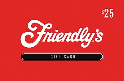 Friendly's $25 Gift Card Email Delivery (67850B2500)
