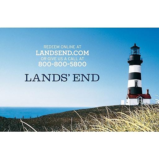 Lands End $25 Gift Card (71016B2500)