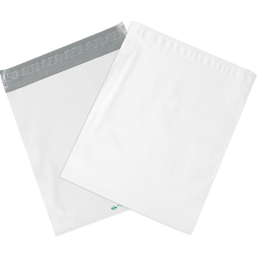 "Expansion Poly Mailers, White, 20"" x 24"" x 4"", 100/Case (EPM20244)"