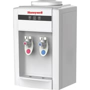 Honeywell 21in Tabletop Water Cooler Dispenser with Hot and Cold Temperatures White (B2052W)