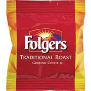 Folgers Ground Coffee Fraction Pack, Traditional Roast, 2 oz., 42/Carton