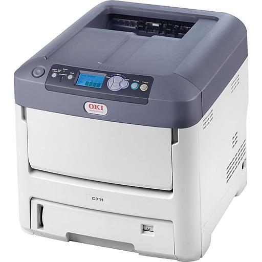 OKI C 711dn 62446803 USB & Network Ready Color Laser Printer