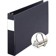 XtraLifeMD – Reliure à anneaux de 11 x 17 po Slant-DMD, 2 po, noir