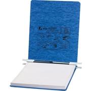 ACCOMD – Reliure de données suspendue PresstexMD avec attaches à tige, 9 1/2 x 11 po, 6 po, bleu clair