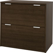 bestar i3 2 Drawer Lateral File, Brown,Letter/Legal, 30.1''W (150630-78)