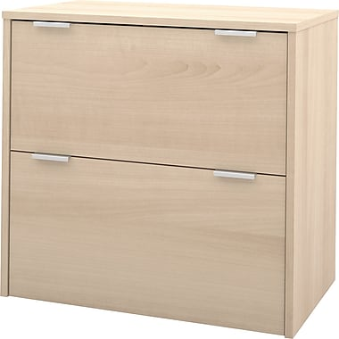 bestar i3 2 Drawer Lateral File, Maple,Letter/Legal, 30.1''W (150630-38)