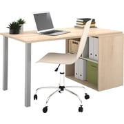 Bestar i3 Workstation Northern Maple/Sandstone