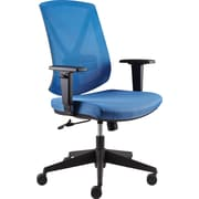 Staples® Bonley Mesh Chair, Blue