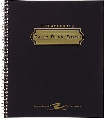 Roaring Spring Products Teacher's Daily Plan Books, 11