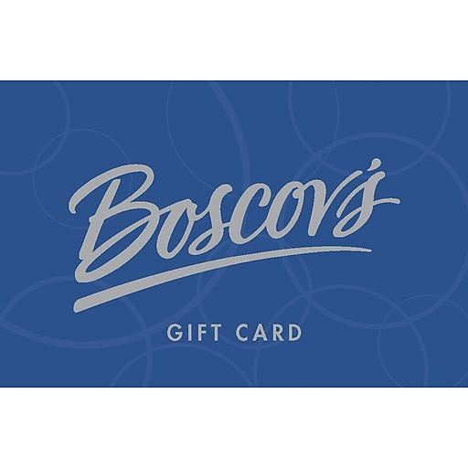 Boscov's $25 Gift Card Email Delivery (68933B2500)