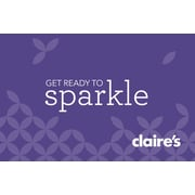Claires Gift Card $25 (Email Delivery)