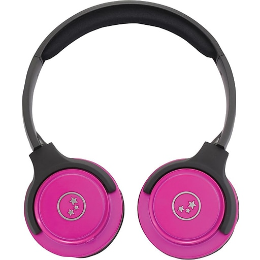 Ableplanet Travelers Choice Stereo Headphones, Pink