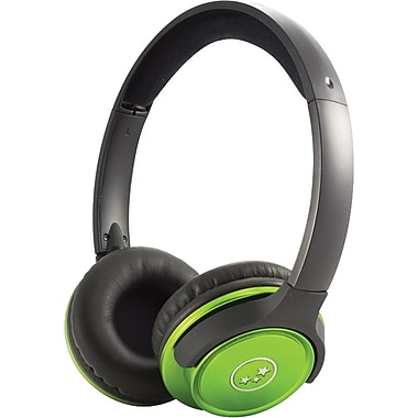 Able Planet Travelers Choice Stereo Headphones Green