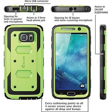 i-Blason Samsung Galaxy S6 Case , Armorbox Full Body Protective Case, Green