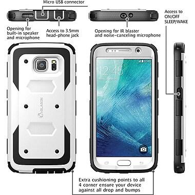 i-Blason Samsung Galaxy S6 Case , Armorbox Full Body Protective Case, White