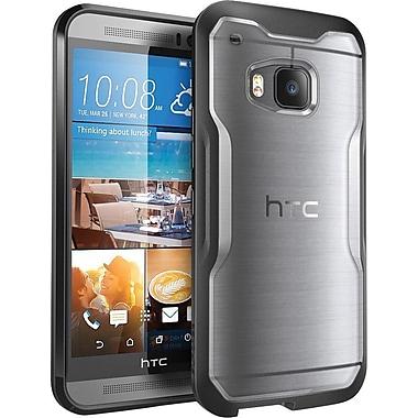SUPCASE HTC One M9 Case, Unicorn Beetle Hybrid Bumper Case, Frost/Black
