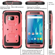 i-Blason HTC One M9 Case, Armorbox Full Body Protective Case, Pink