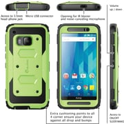 i-Blason HTC One M9 Case, Armorbox Full Body Protective Case, Green