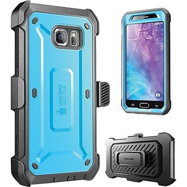 SUPCASE Samsung Galaxy S6 Case, Unicorn Beetle Pro Rugged Holster Case , Blue/Black
