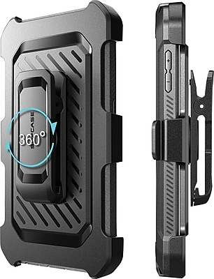 SUPCASE Samsung Galaxy S6 Case , Unicorn Beetle Pro Rugged Holster Case, Black/Black