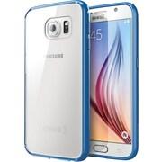 i-Blason Samsung Galaxy S6 Case, Halo Scratch Resistant Hybrid Clear Case, Clear/Navy