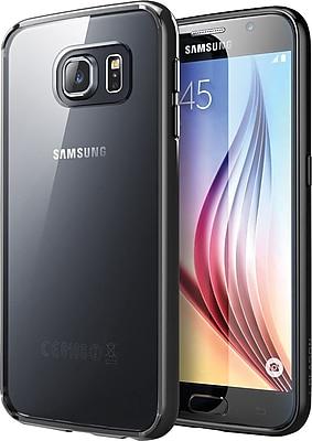 i-Blason Samsung Galaxy S6 Case, Halo Scratch Resistant Hybrid Clear Case, Clear/Black