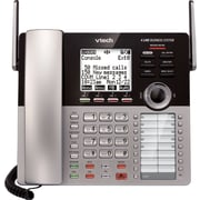 VTech CM18445 Main Console- DECT 6.0 4-Line Expandable Small Business  Phone with Answering System