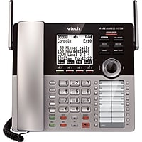 VTech CM18445 Main Console for VTech 4-Line Small Business Office Phone System (Silver)
