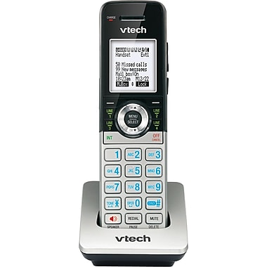 VTech CM18045 Accessory Handset for VTech 4-Line Small Business Office Phone System, Silver