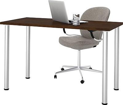bestar 24'' Work Station Sit & Stand Desk, Chocolate (65852-69)