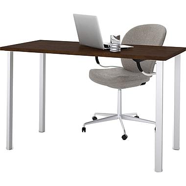 bestar 24'' Work Station Sit & Stand Desk, Chocolate (65855-69)