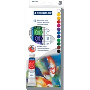 Staedtler Water Colour Paint, 12/Pack