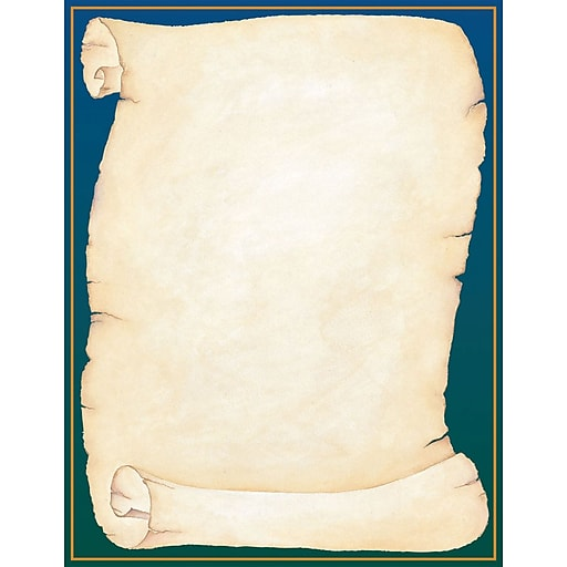 Great Papers Scroll Letterhead, 80/Pack